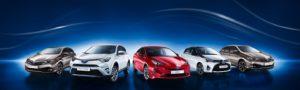 Vehículos Híbridos Toyota