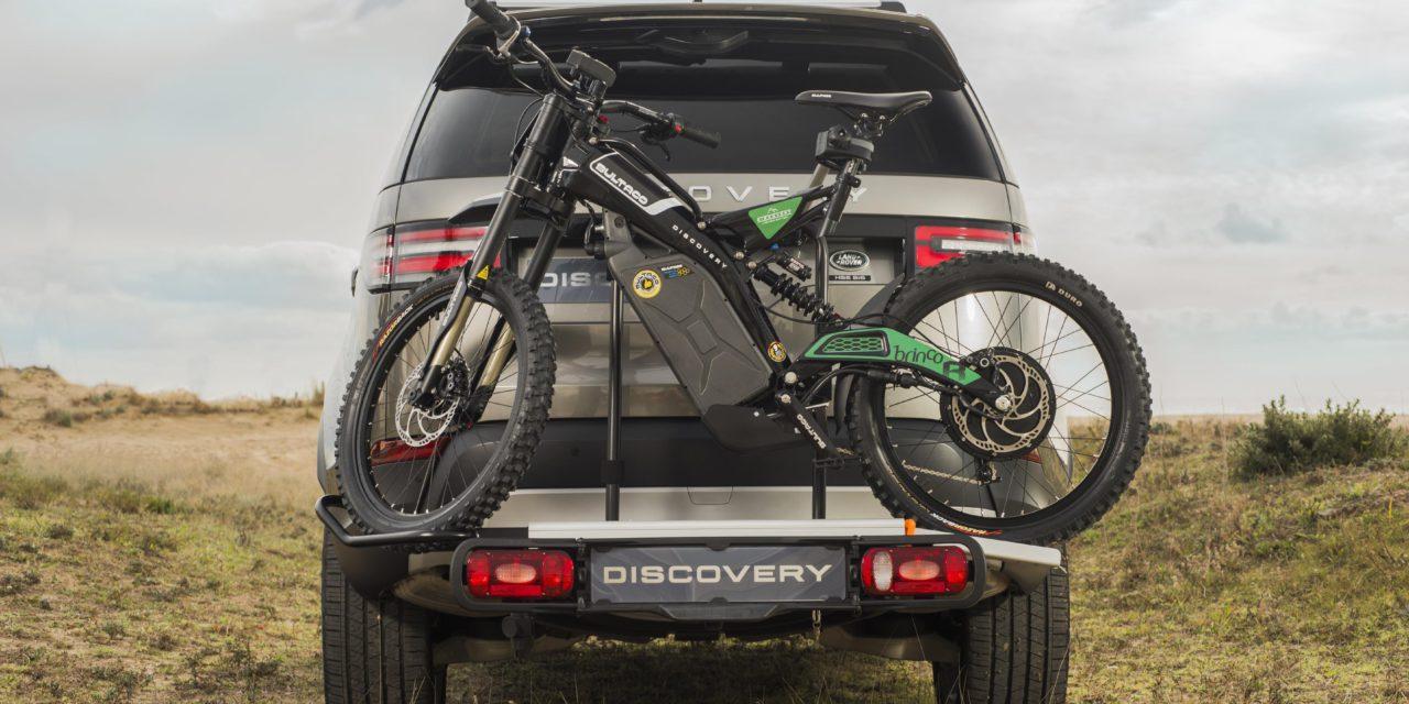 LAND ROVER Y BULTACO LANZAN CONJUNTAMENTE LA MOTO-BIKE ELÉCTRICA BRINCO 'DISCOVERY'