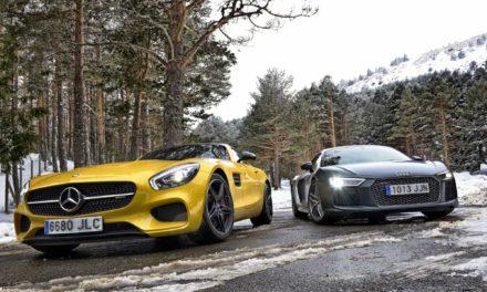 AUDI R8 V10 PLUS vs AMG GT S