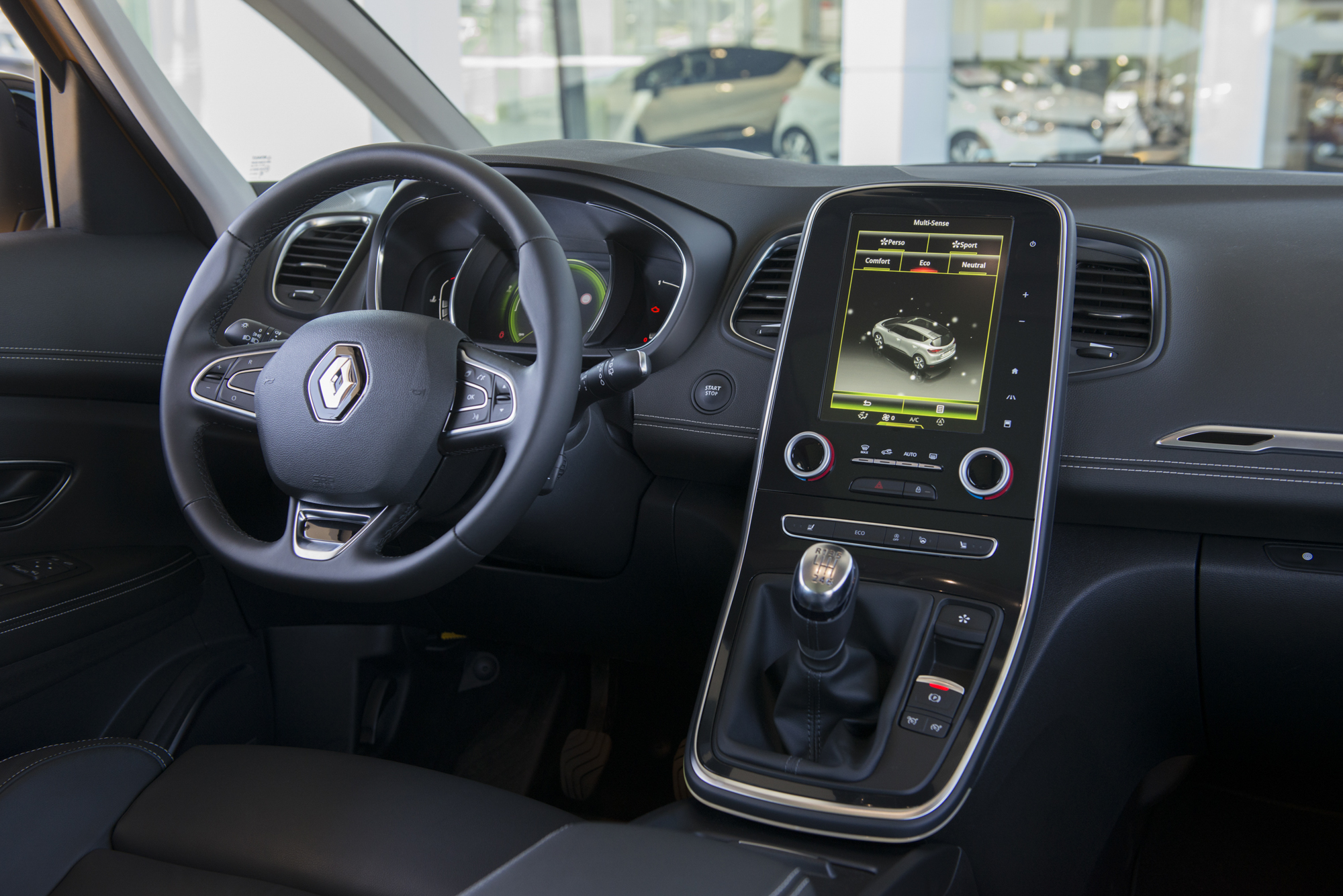 Renault sc nic dci 130 top auto for Interior renault scenic