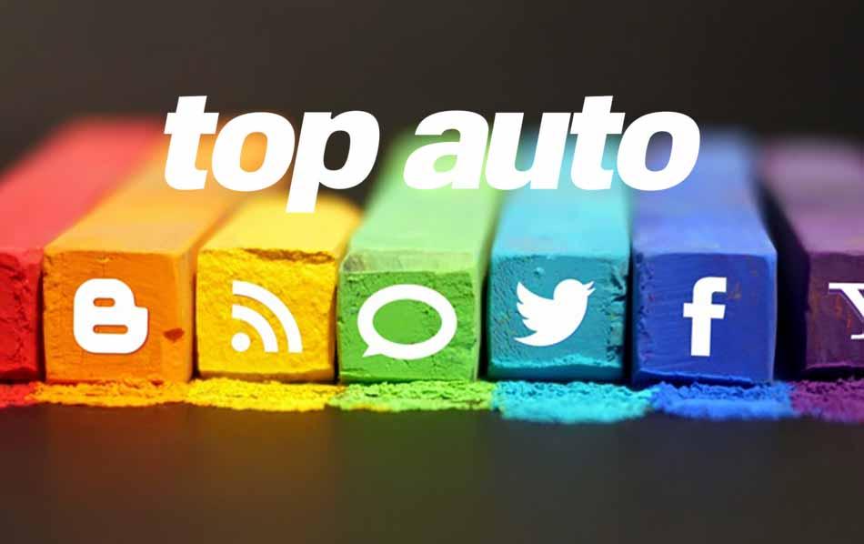 Siguenos en Redes Sociales. Revista Top Auto.