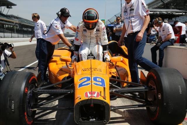 Fernando Alonso 500 Millas